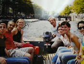 Excursions in the canals of Amsterdam